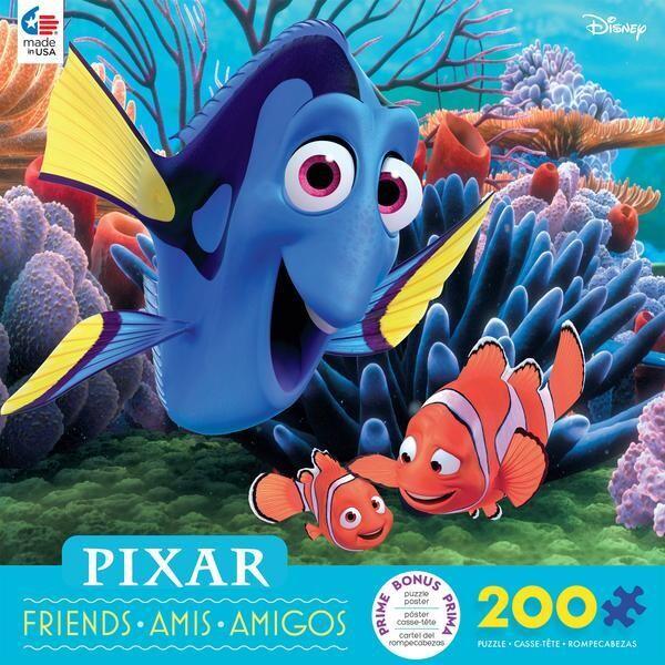 Pixar Friends Finding Dori 200 Pc