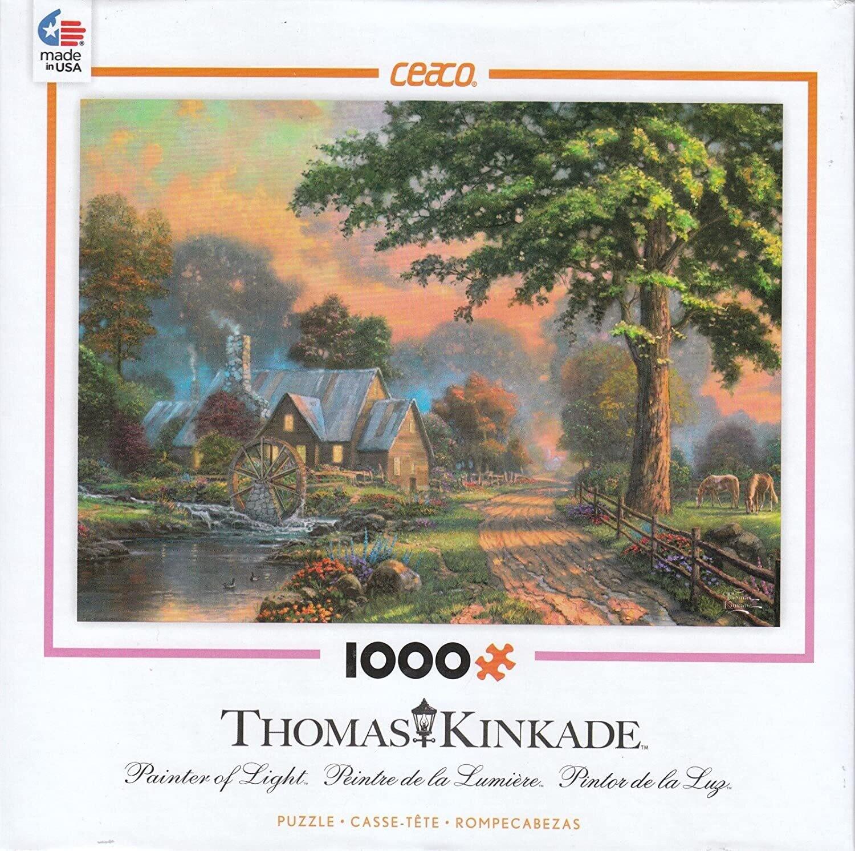 Thomas Kinkade Simpler Times 1000 Pc
