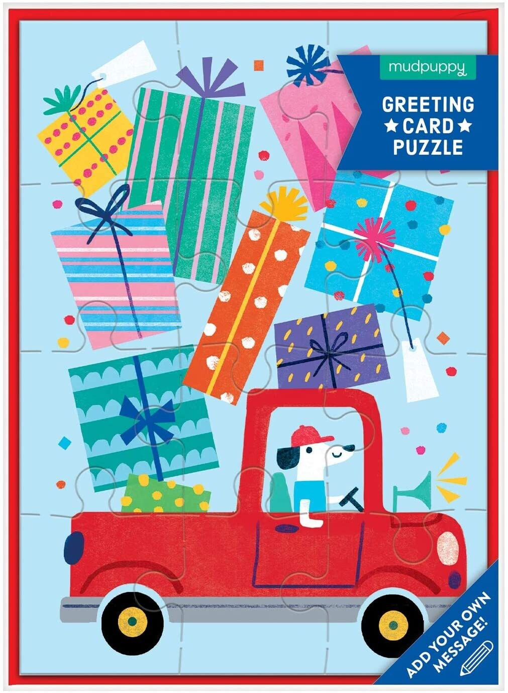 Birthday Truck Greeting Card 12 Pc