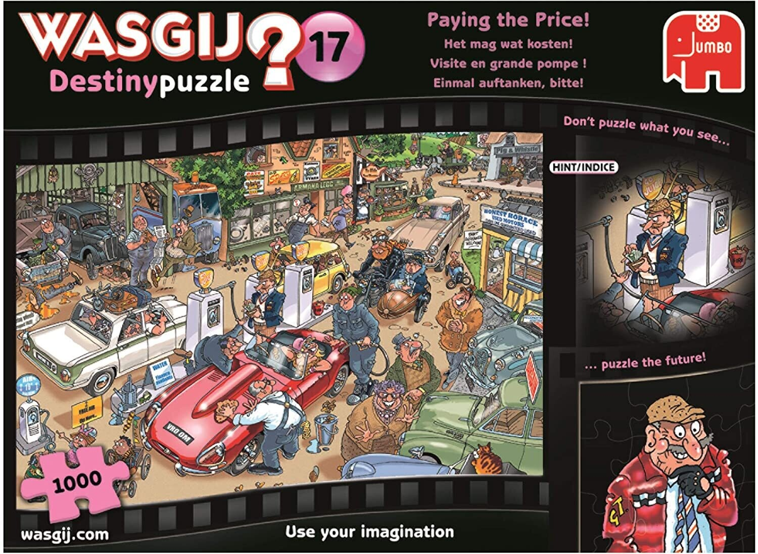 Paying The Price Wasgij 1000 Pc