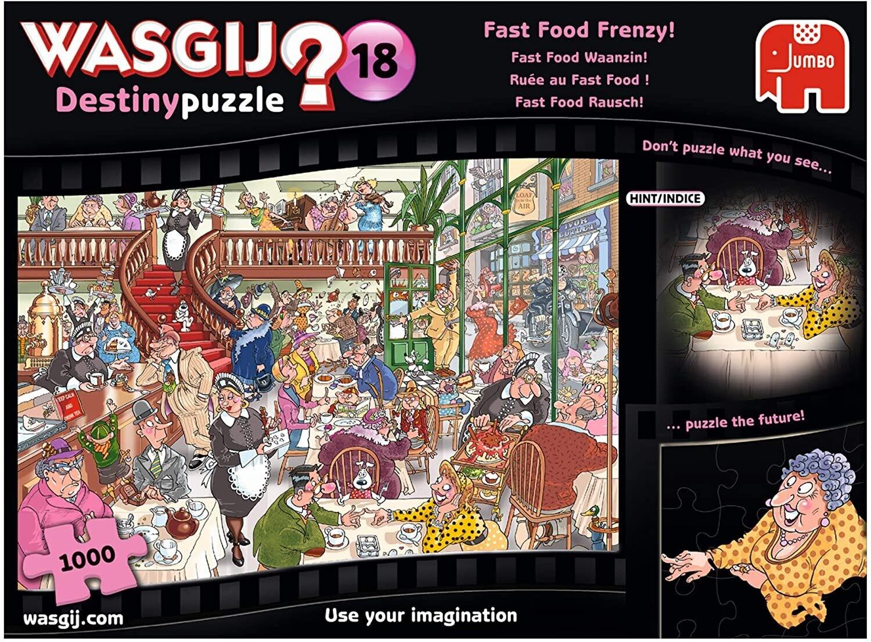 Fast Food Frenzy Wasgij 1000 Pc