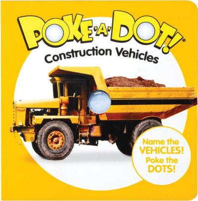 Poke A Dot Construction Vehicles Book