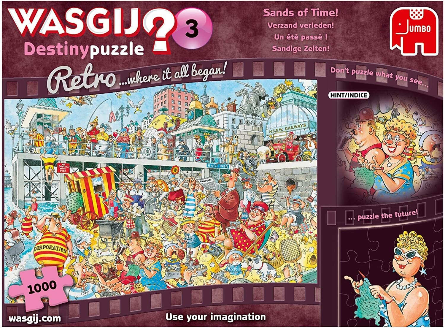 WASGIJ Sands Of Time 1000 Pc