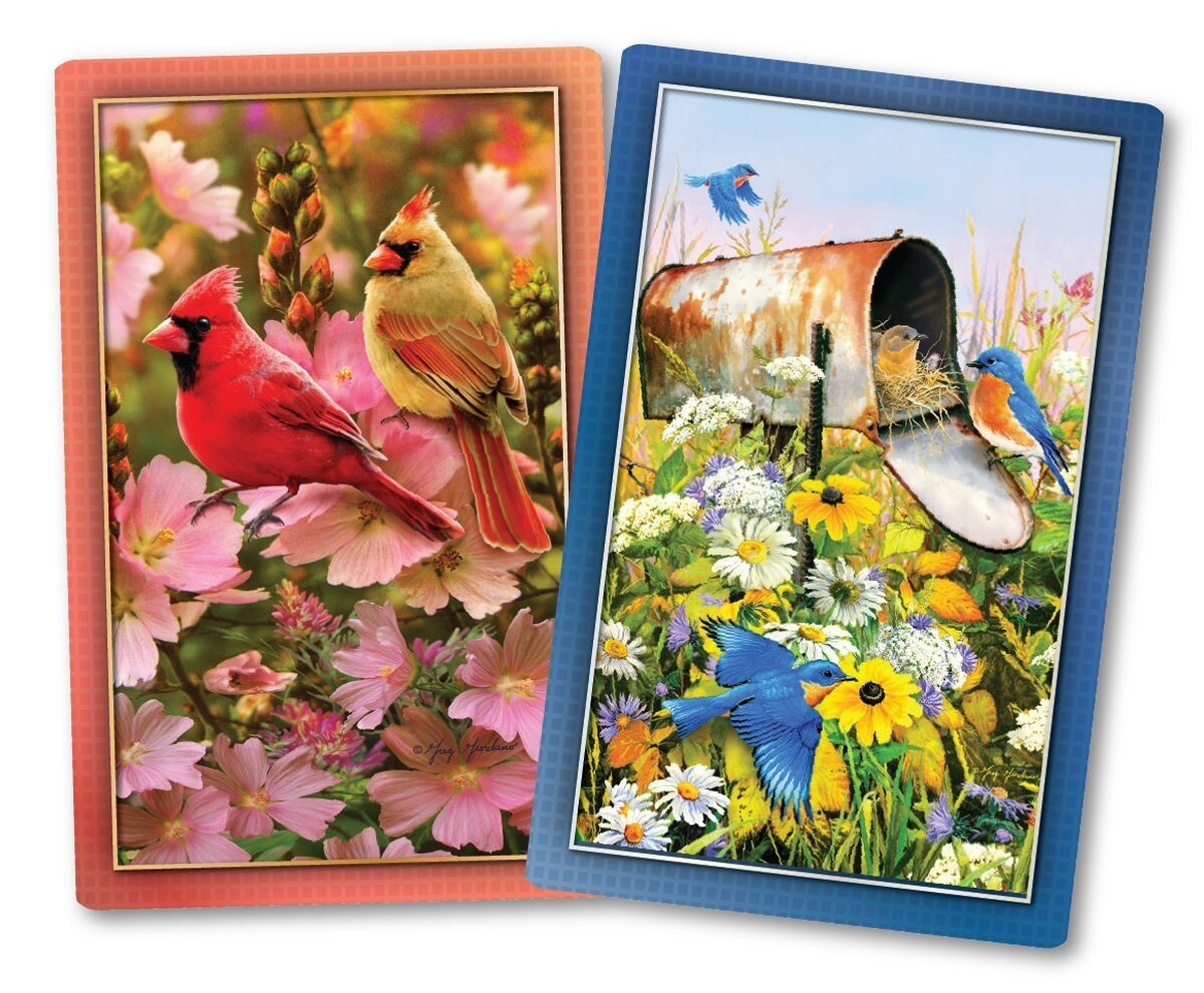 Playing Cards Floral Friends (Birds)