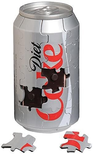 Diet Coke Can Magnetic 40 Pc