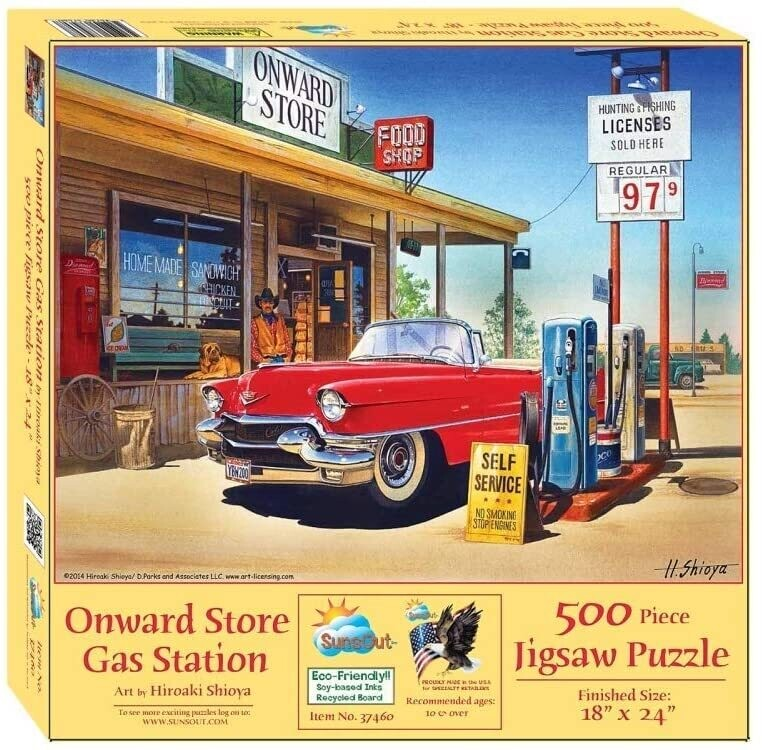 Onward Store Gas Station 500 Pc