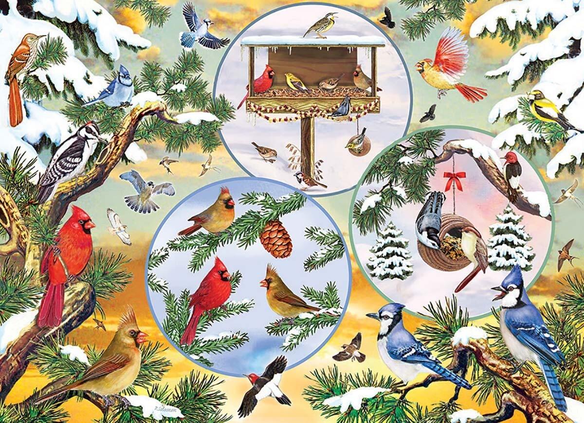 Winterbird Magic 500 Pc