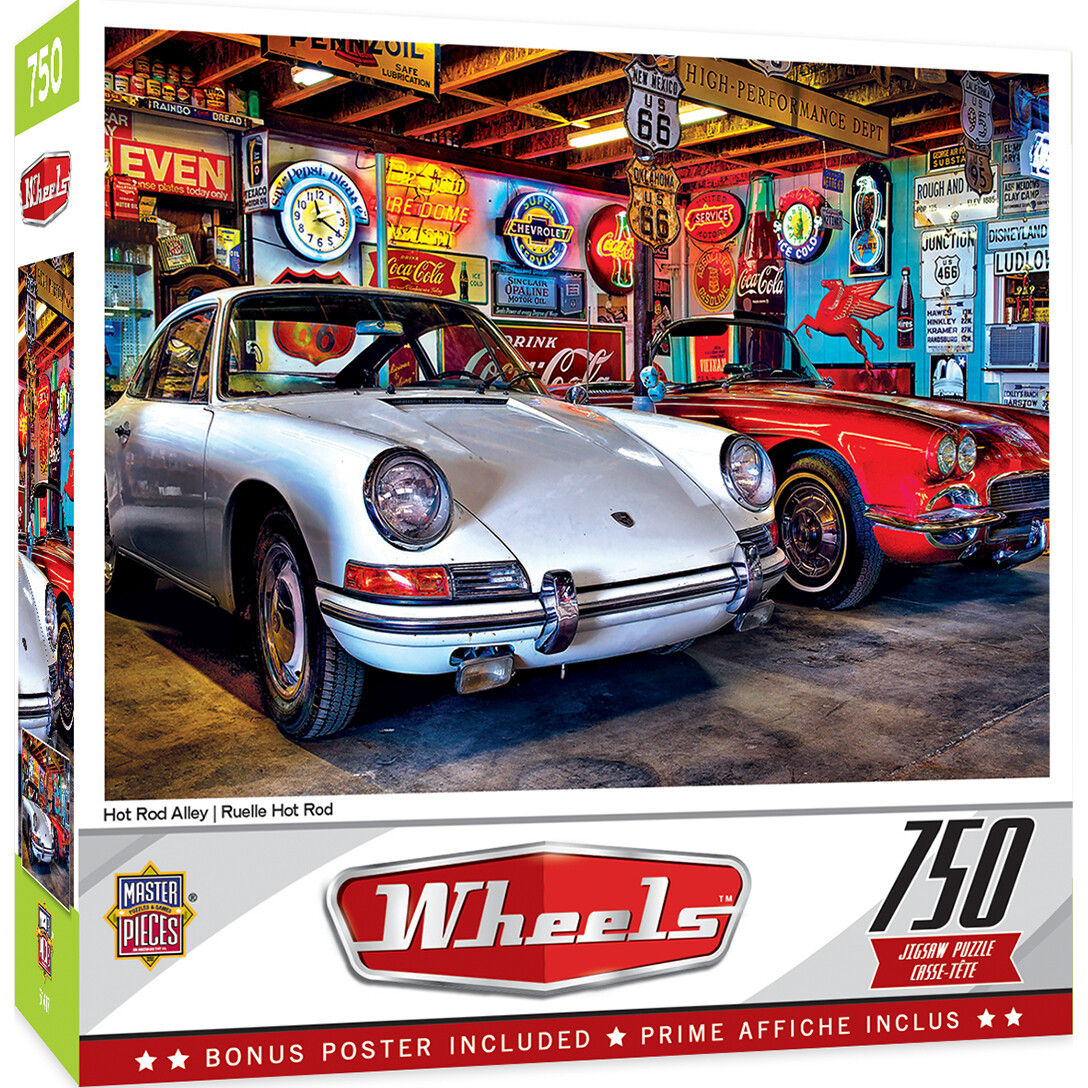 Hot Rod Alley 750 Pc