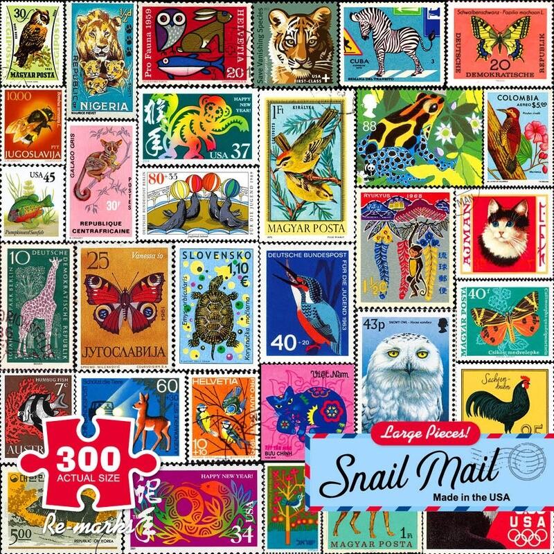 Snail Mail 300 Pc Large