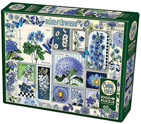 Blue Flowers 1000 Pc