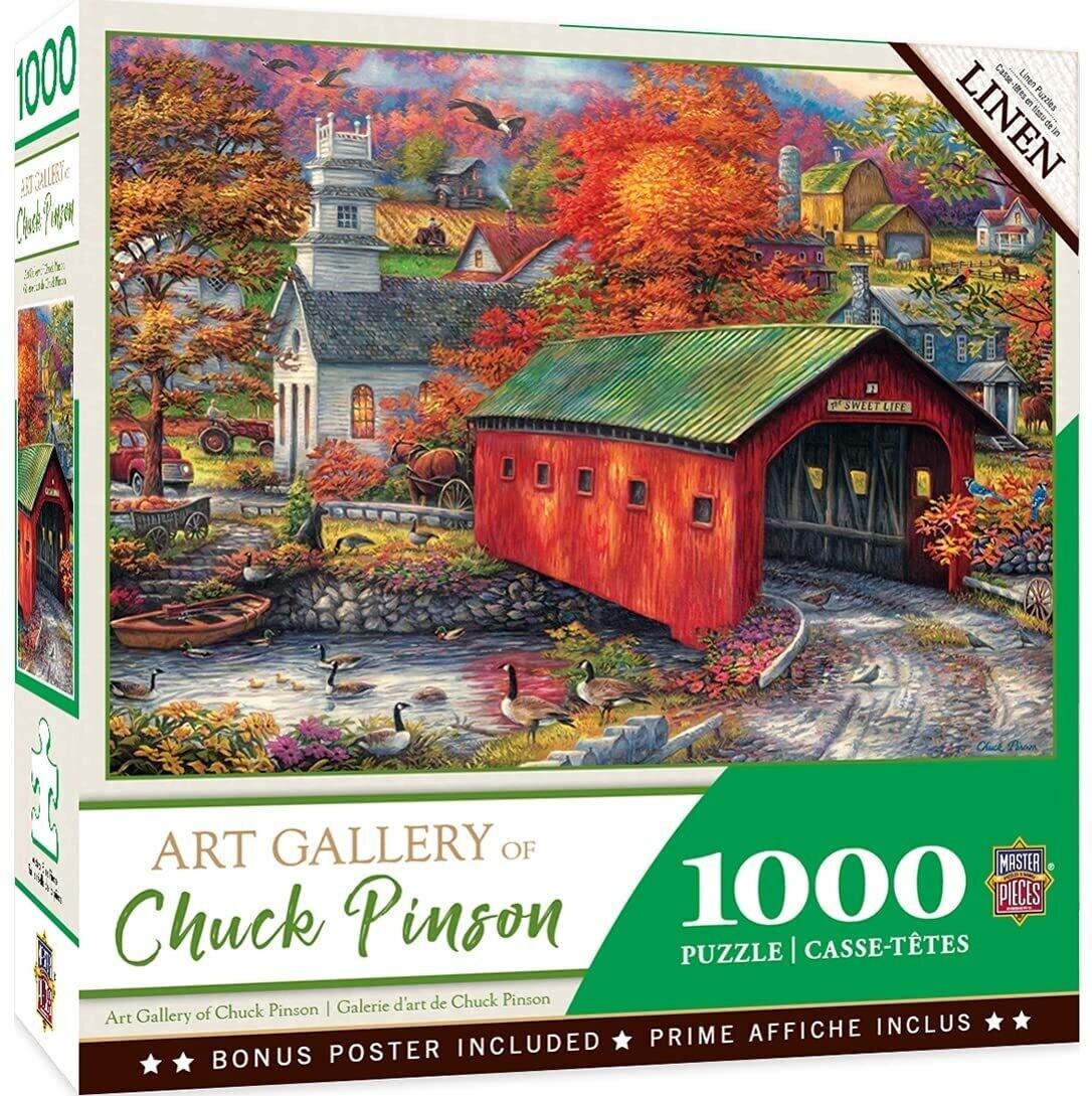 Chuck Pinson The Sweet Life 1000 Pc Linen