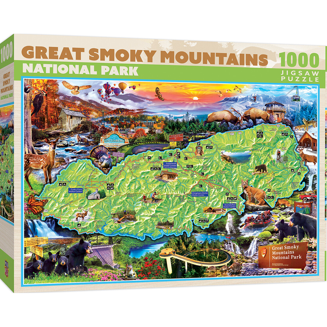 Great Smoky Mountains National Park 1000 Pc