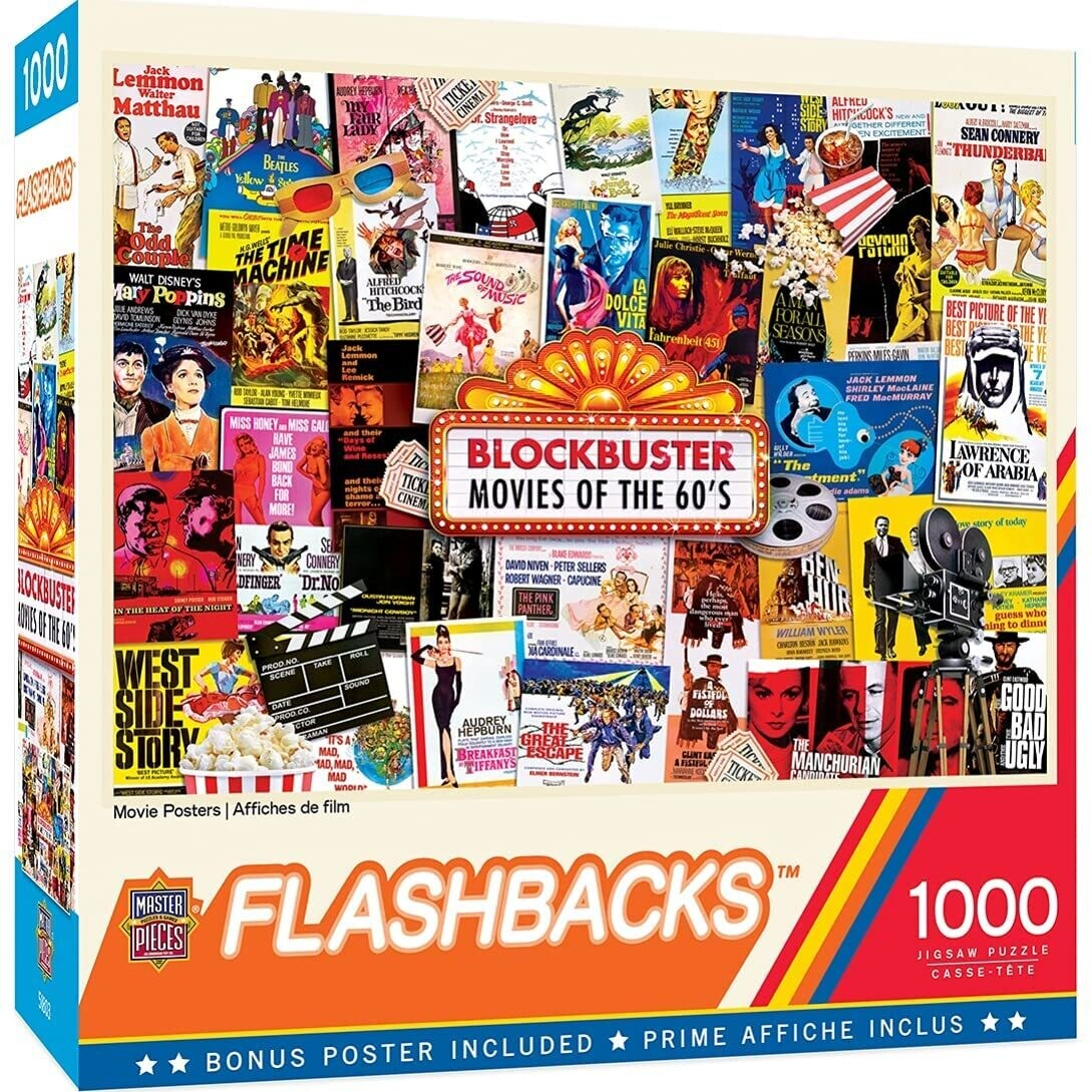 Movie Posters 1000 Pc