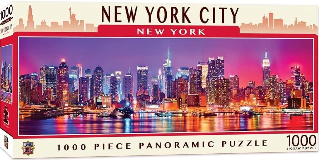 New York City 1000 Pc Pano