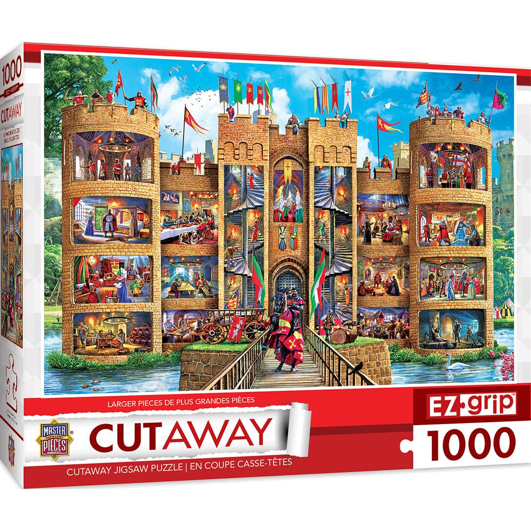 Medieval Castle 1000 Pc Large Pc