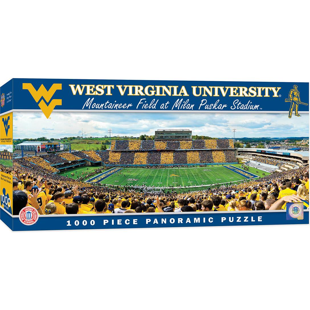 West Virginia Stadium 1000 Pc Pano