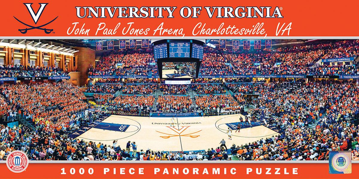 University Of Virginia Basketball Arena 1000 Pc Pano