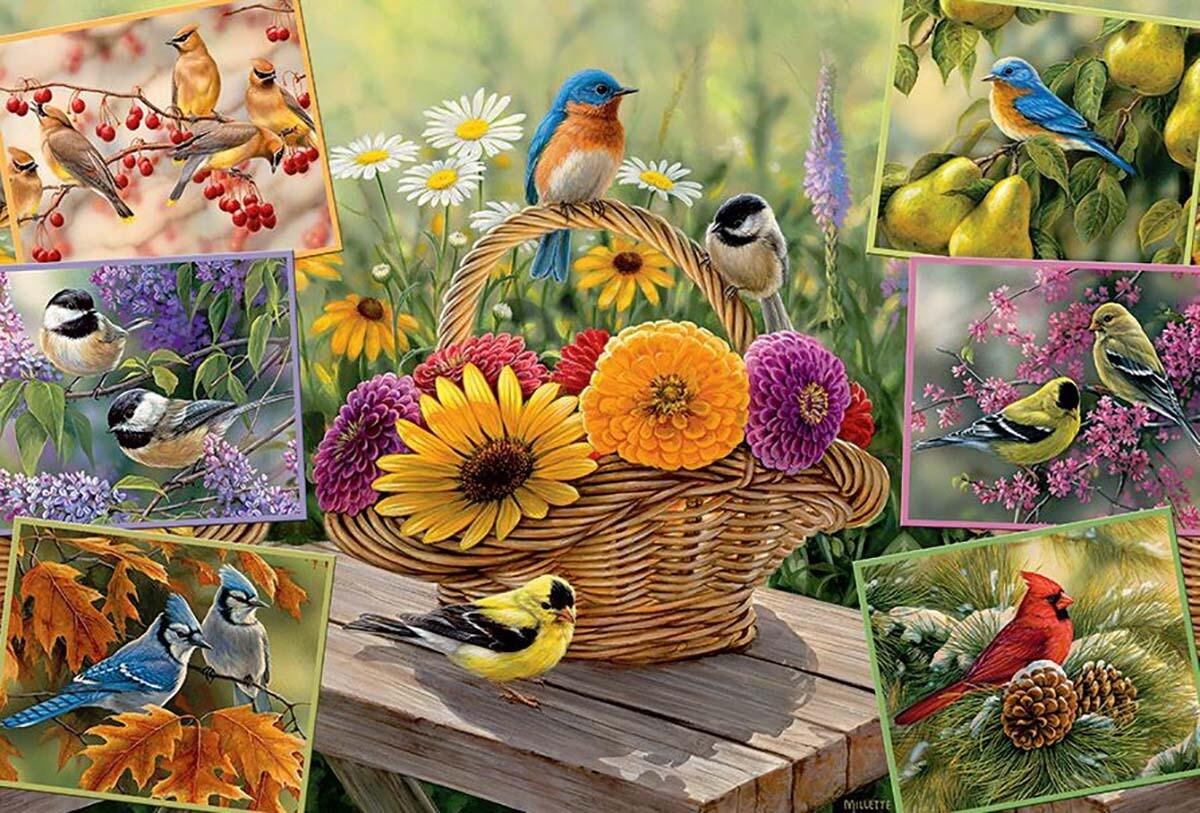 Rosemary's Birds 2000 Pc
