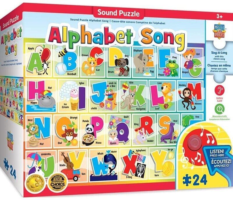Alphabet Song Sound 24 Pc
