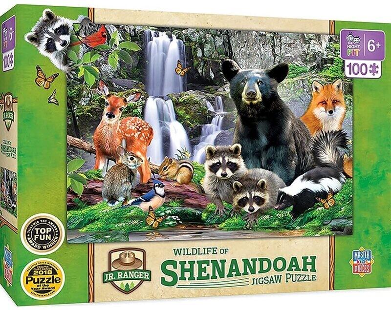 Wildlife Of Shenandoah National Park 100 Pc