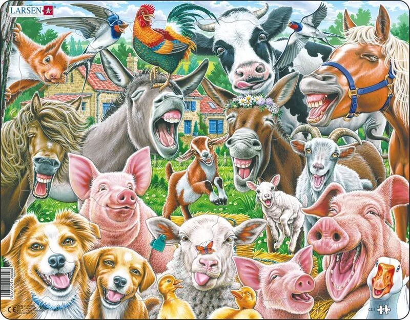 Happy Farm 33 Pc