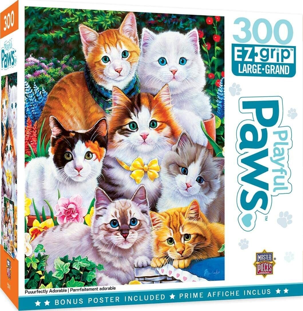 Puuurfectly Adorable 300 Pc Large