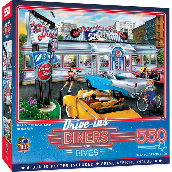 Rock & Rolla Diner 550 Pc