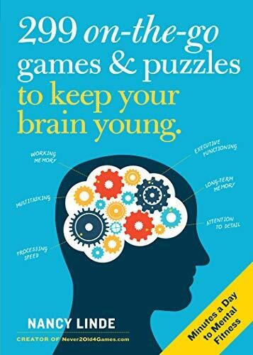 299 On The Go Games & Puzzles To Keep Your Brain Young Book
