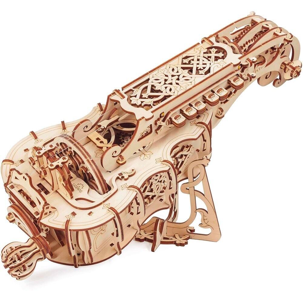 Hurdy Gurdy 3D Wood Mechanical 292 Pc