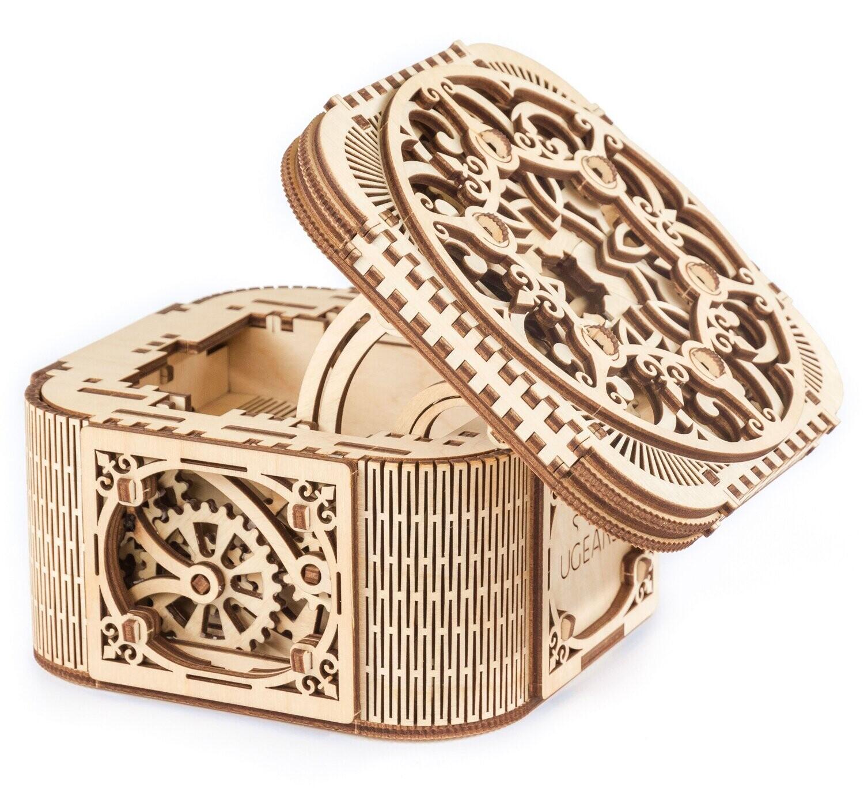Treasure Box 3D Mechanical 190 Pc