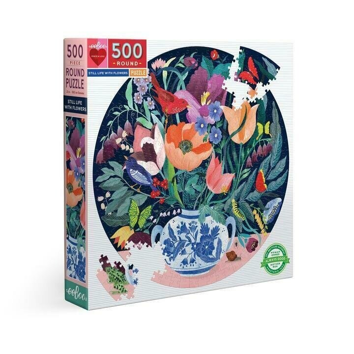 Still Life With Flowers 500 Pc