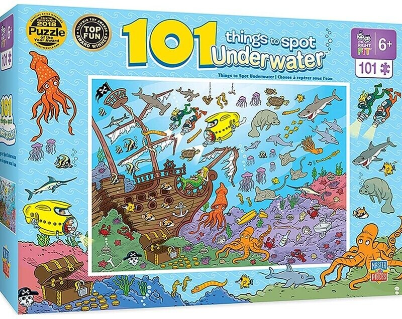 101 Things To Spot Underwater 100 Pc