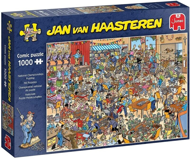 National Championships Puzzling 1000 Pc