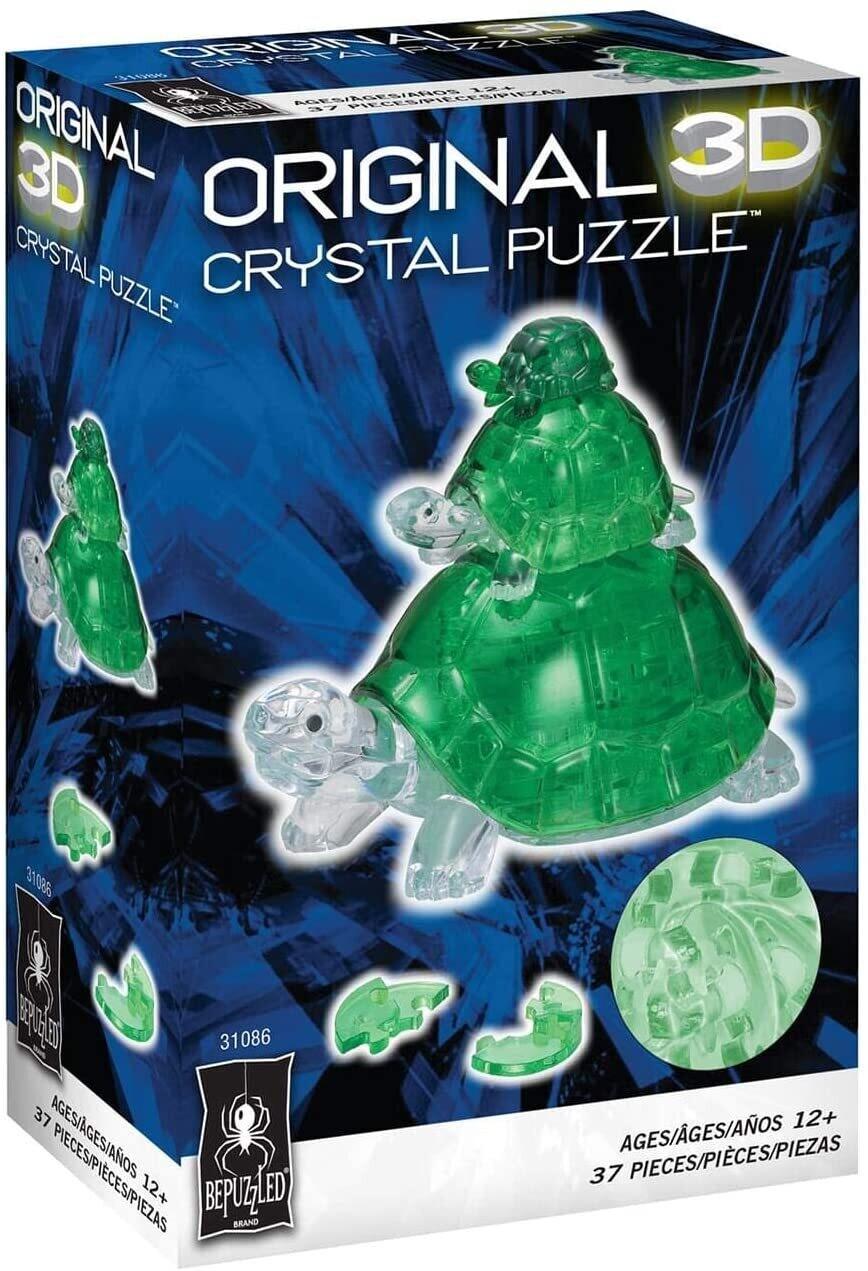 Crystal Turtles 3D 37 Pc