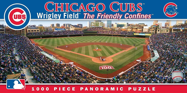 Chicago Cubs Stadium 1000 Pc Pano