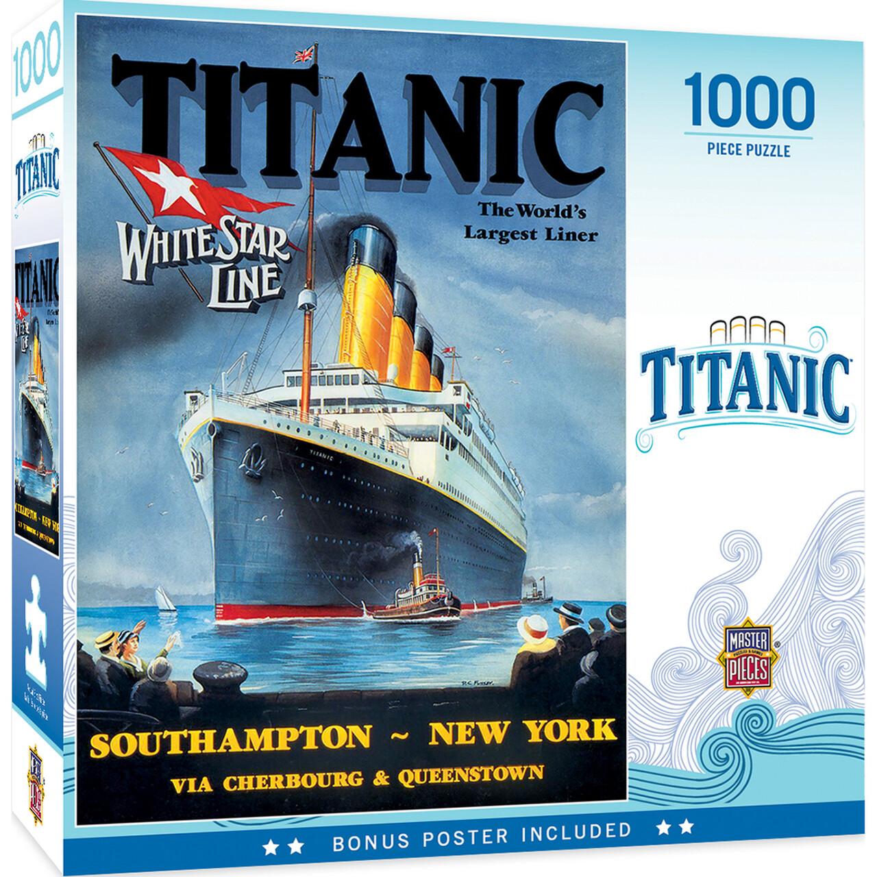Titanic White Star 1000 Pc