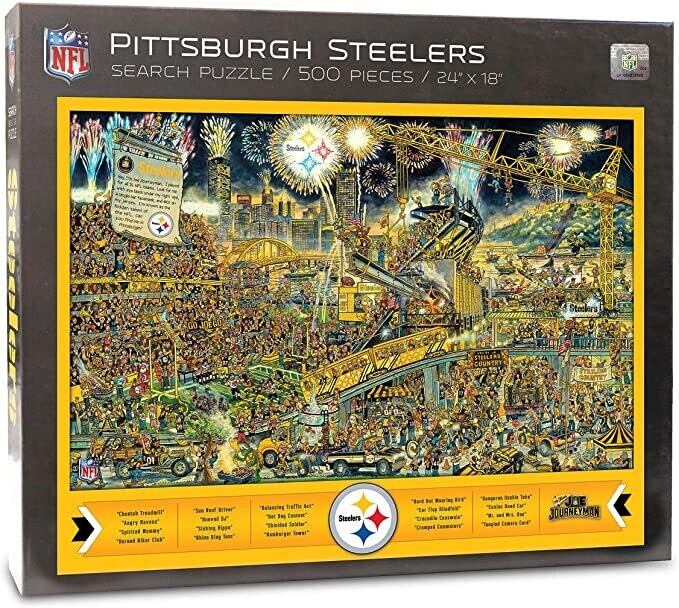 Pittsburgh Steelers Search 500 Pc