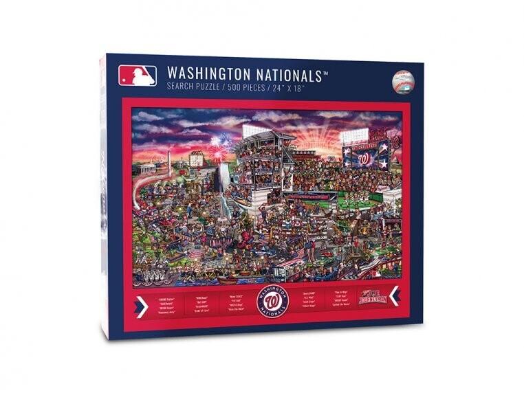 Washington Nationals Search 500 Pc