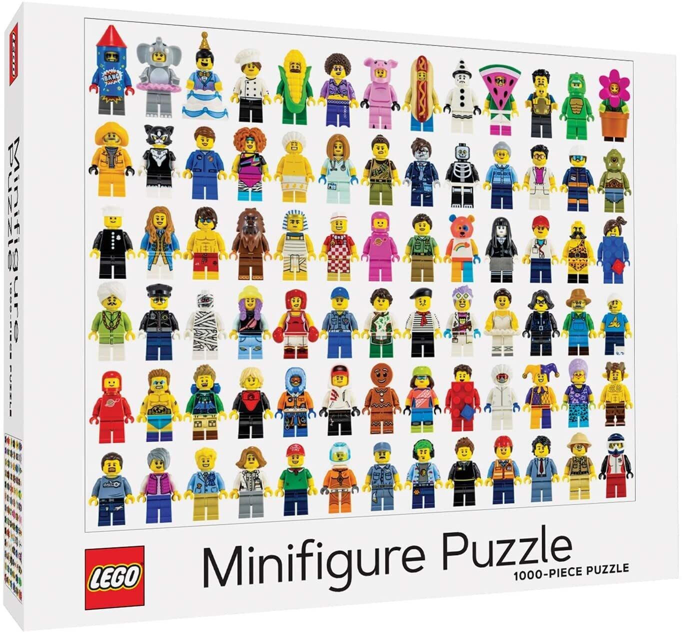 Lego Minifigure Puzzle 1000 Pc