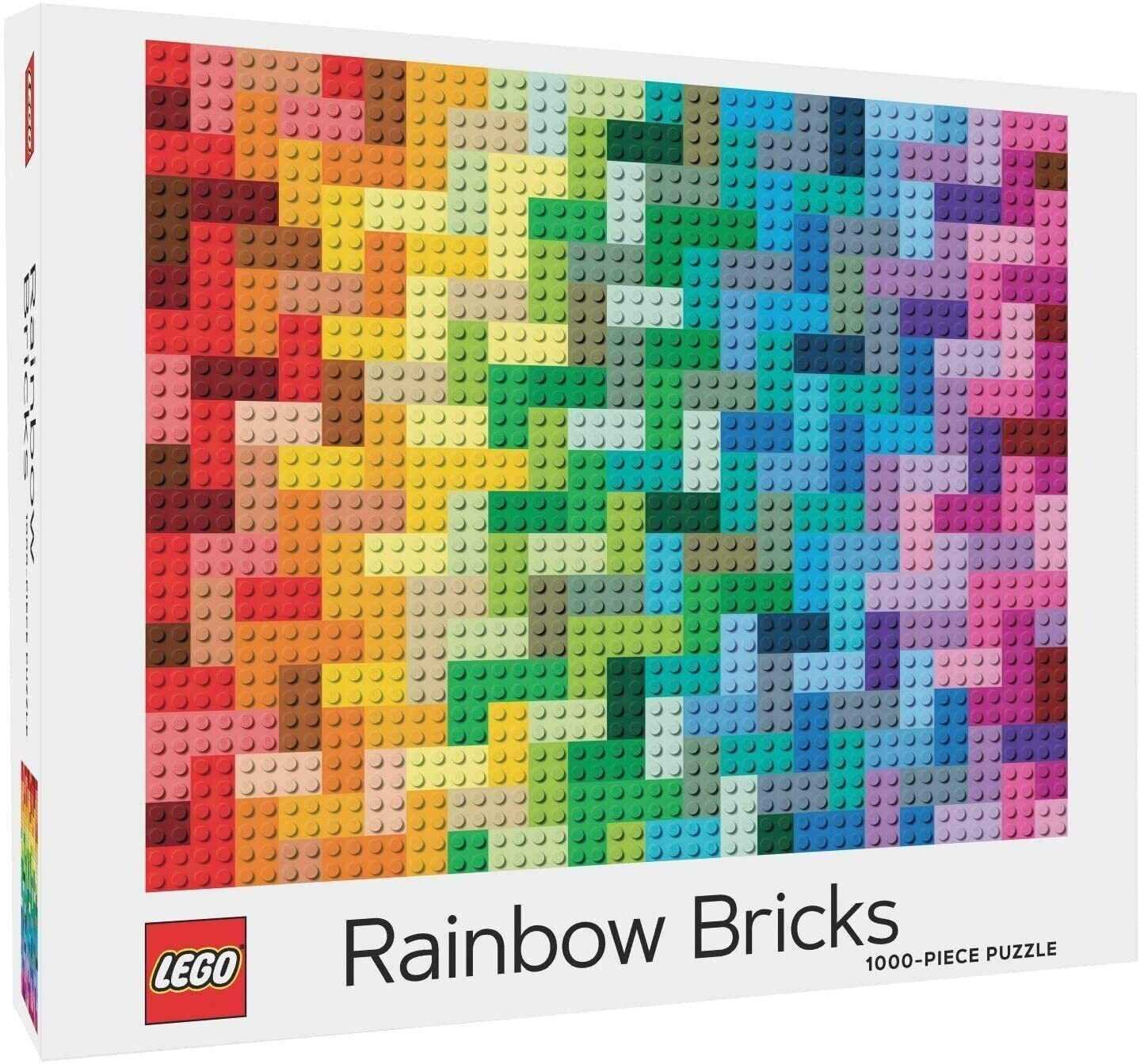 Lego Rainbow Bricks 1000 Pc