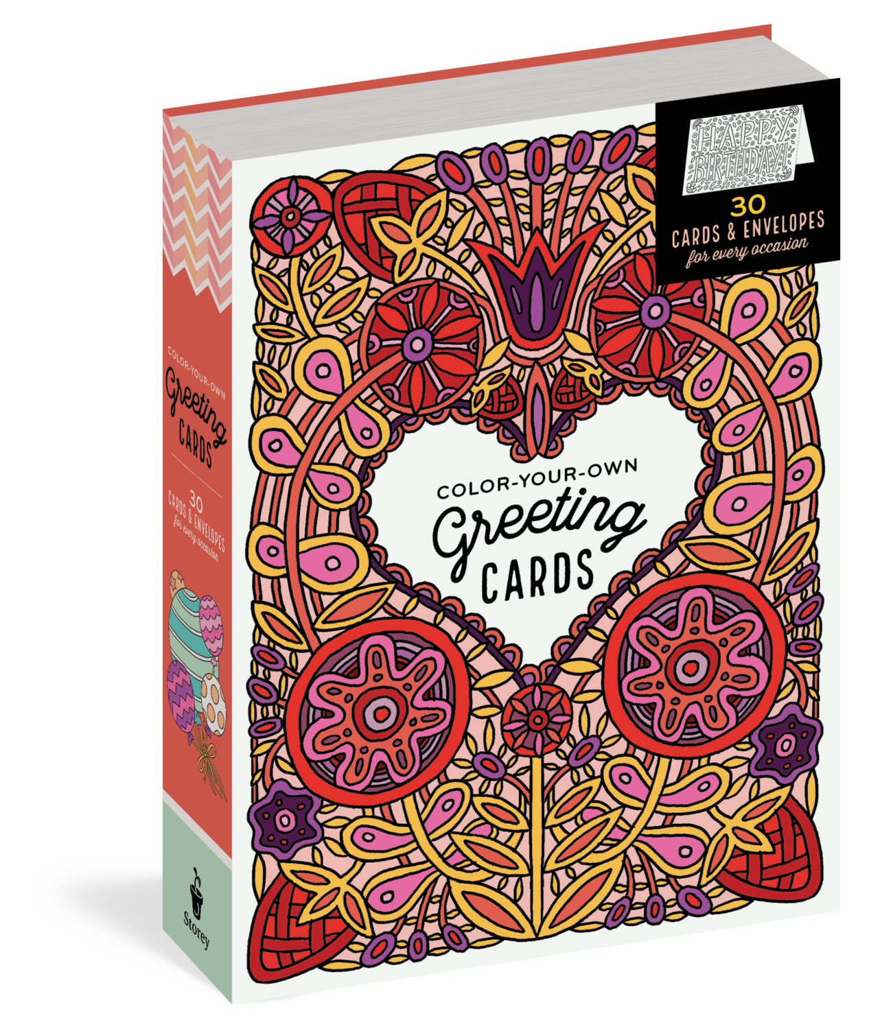 Color Your Own Greeting Cards 30 Ct