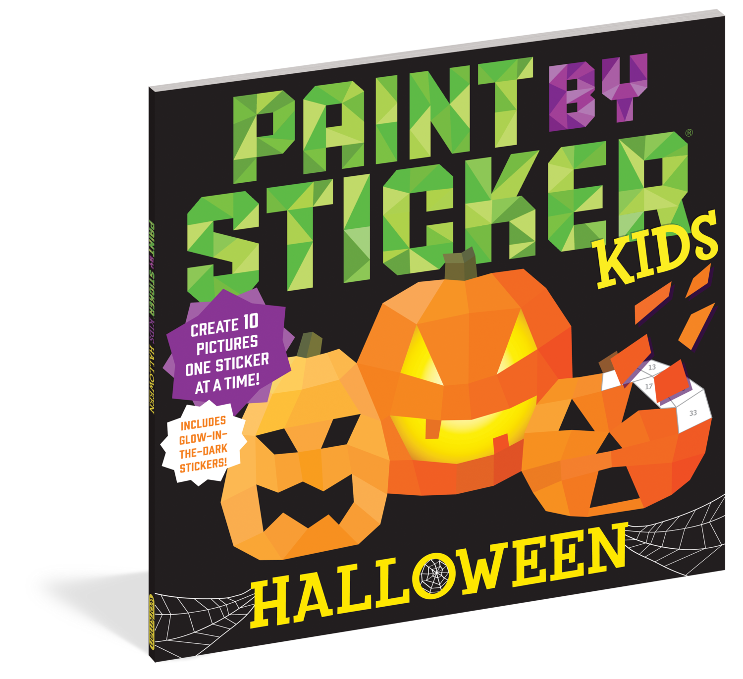 Paint By Stickers Halloween