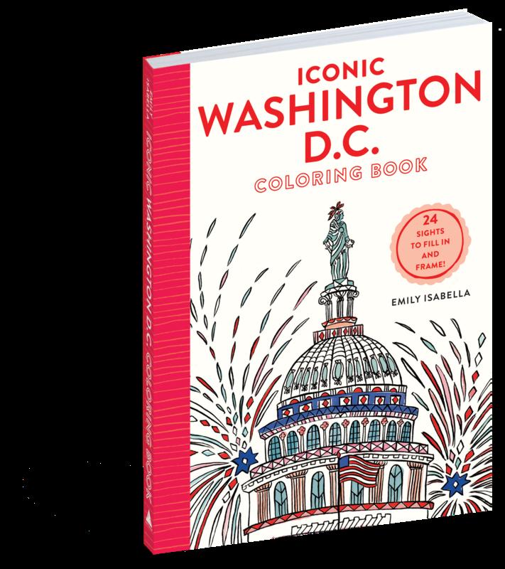 Washington DC Coloring Book