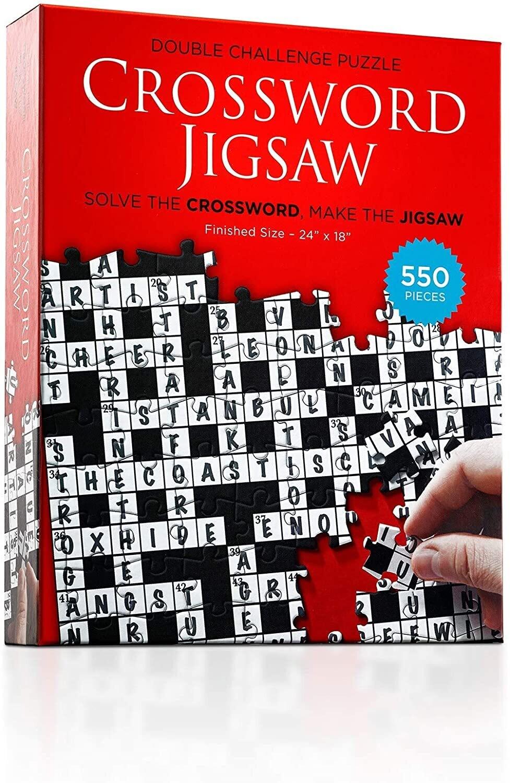 Crossword Jigsaw 550 Pc