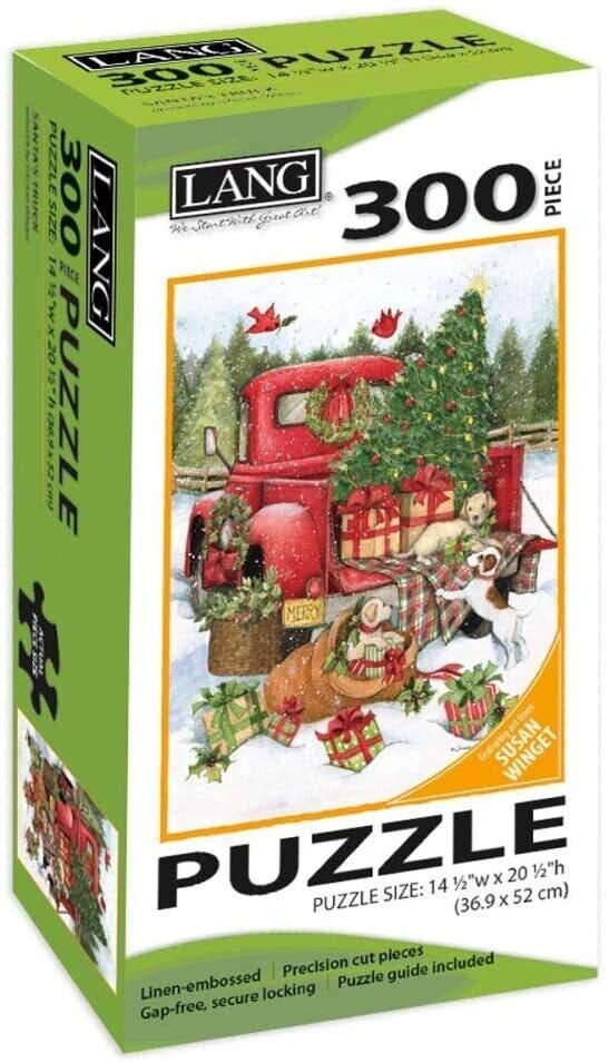 Santa's Truck 300 Pc