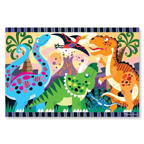 Dinosaur Dawn 24 Pc Floor
