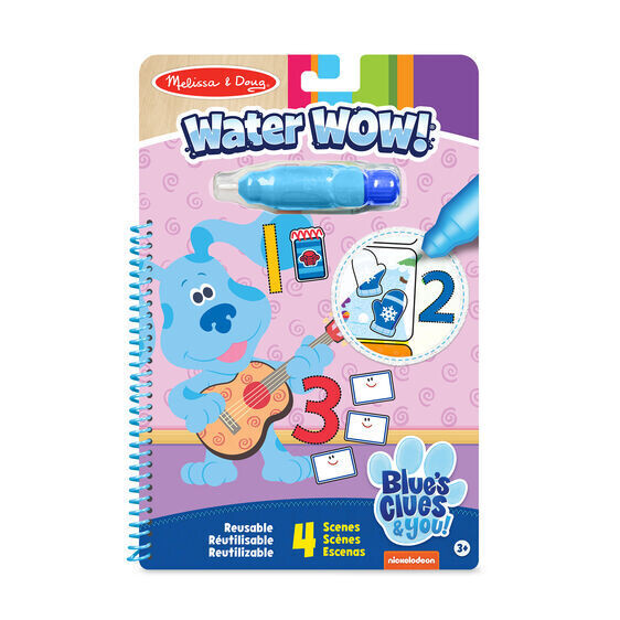 Blues Clues & You Counting Water Wow