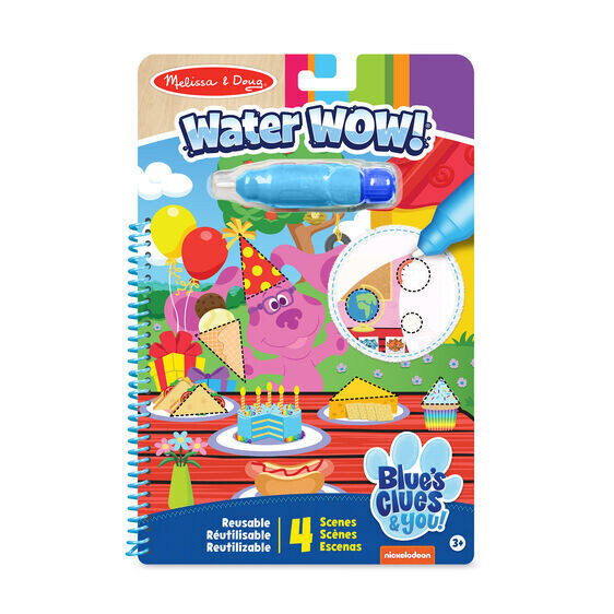 Blues Clues & You Shapes Water Wow