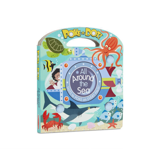 All Around The Sea Poke A Dot Book
