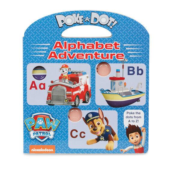 Alphabet Adventure Paw Patrol Book